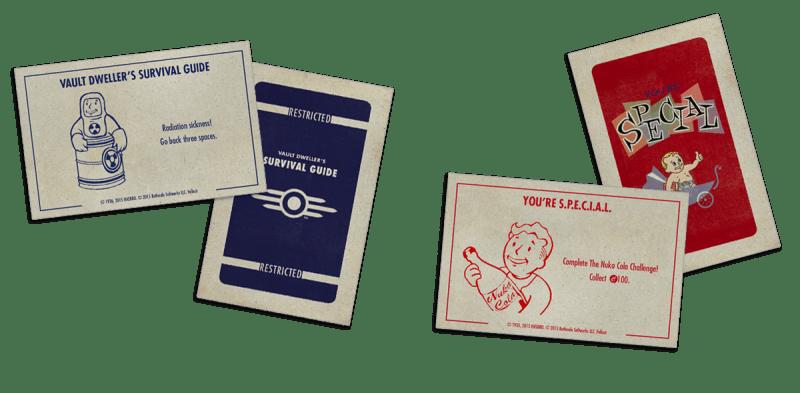 Fallout Monopoly lapok