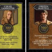 Game of Thrones Risk - néhány főhős