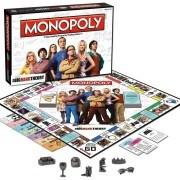 Big Bang Theory Monopoly játékelemek