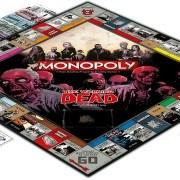 WD Monopoly tábla, pénzek és kártyák