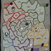 Risk: The Walking Dead játéktábla
