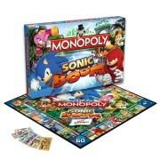 Sonic Boom Monopoly doboz és tábla