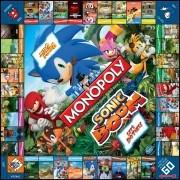 Sonic Boom Monopoly tábla