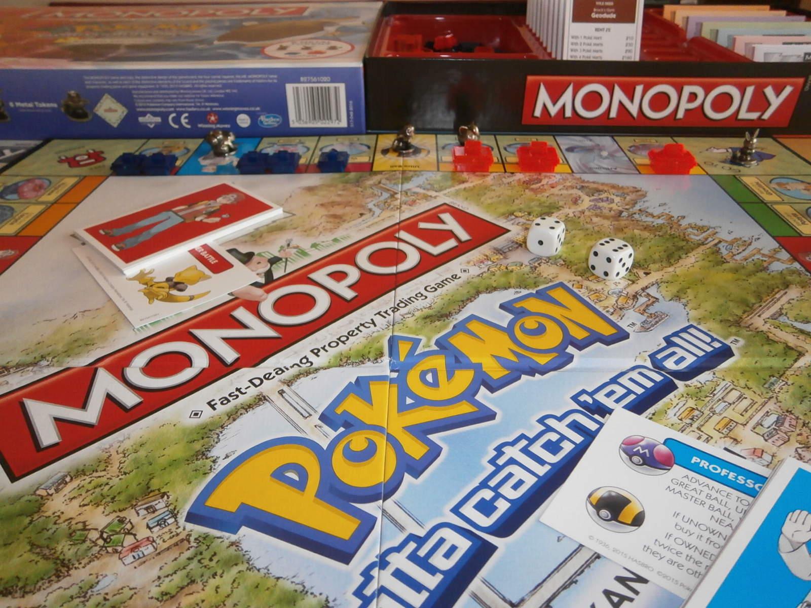 pokemon monopoly kanto edition instructions