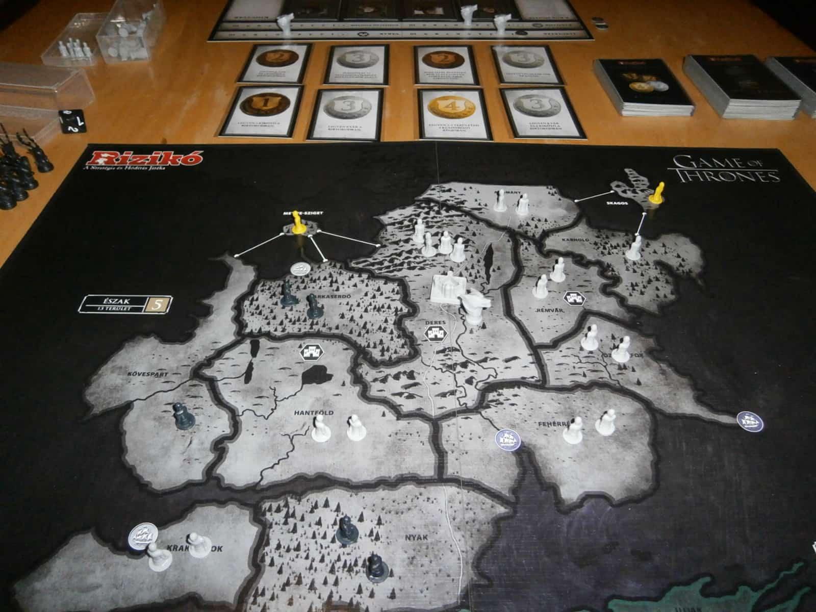 Észak és az első kör Küldetései