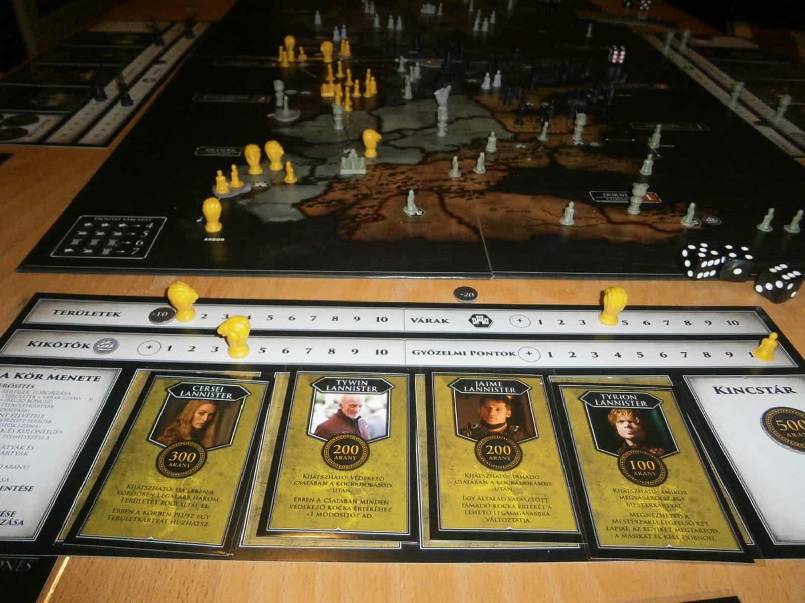 Első helyezett: Lannister Ház