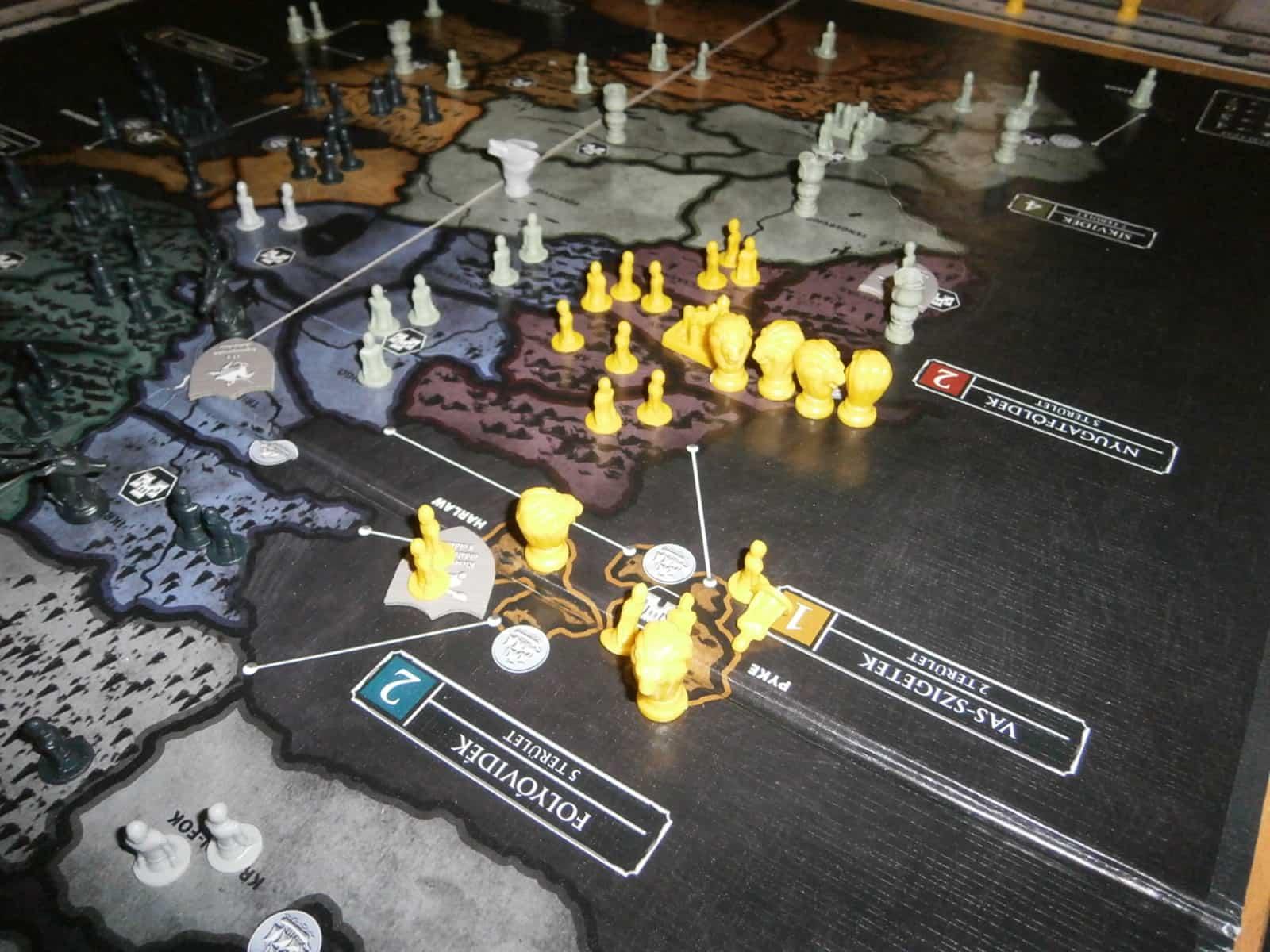 Lannister gyűlés Kaszter hegyen
