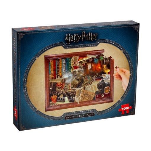 Harry Potter - Roxfort (1000 db-os puzzle)
