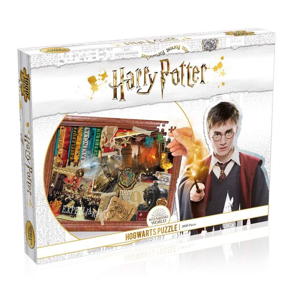 Harry Potter puzzle - Roxfort