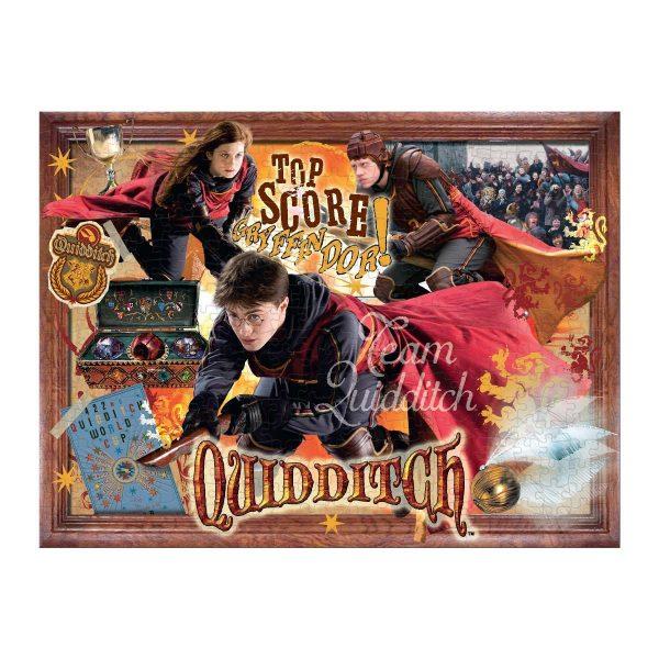Harry Potter puzzle: Kviddics
