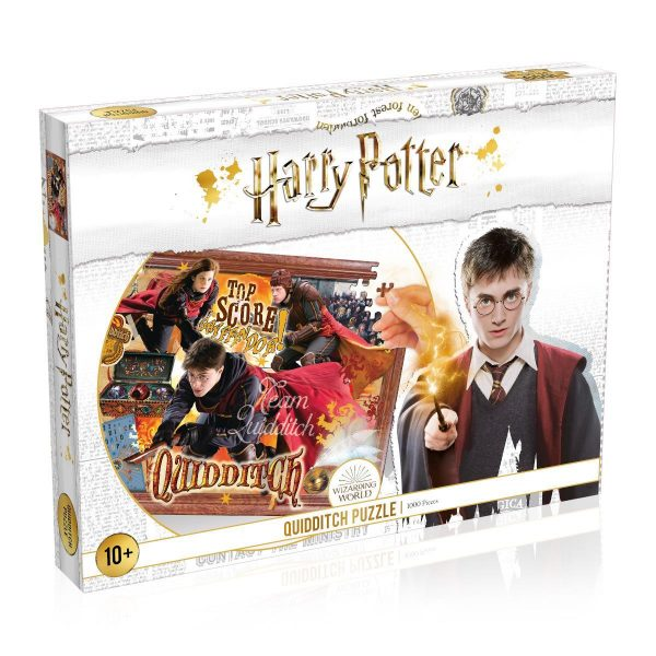 Harry Potter puzzle: Kviddics