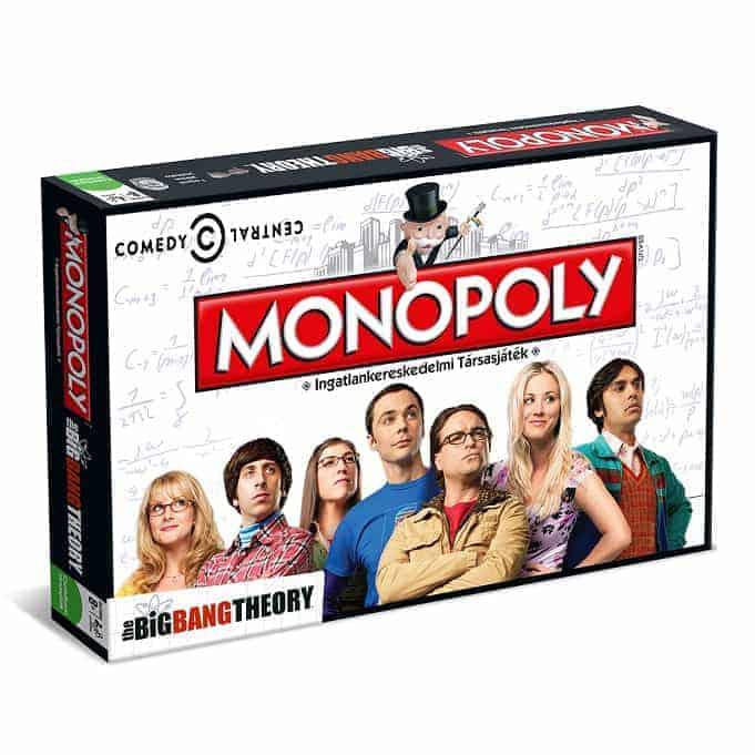 Agymenők Monopoly magyarul!