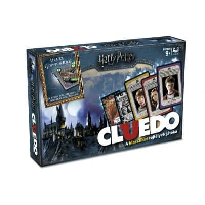 CLUEDO HARRY POTTER HUN without gameboard mockup
