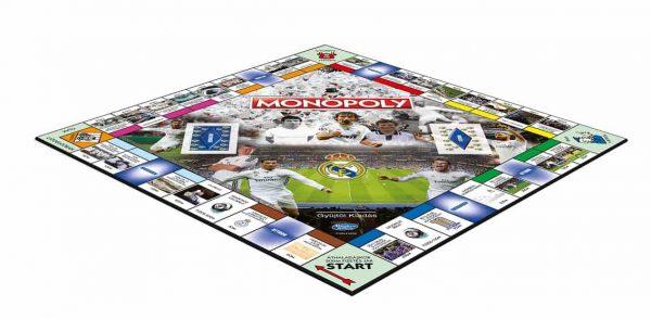 Real Madrid Monopoly játéktábla