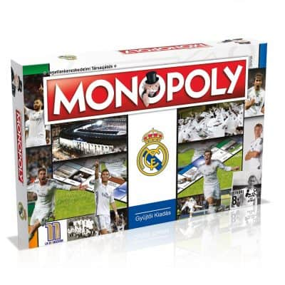 Real Madrid Monopoly (magyar nyelven)