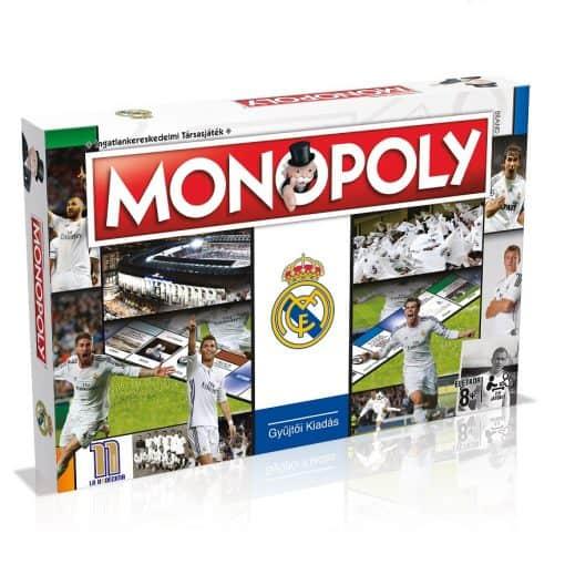 Real Madrid Monopoly (magyar nyelven)