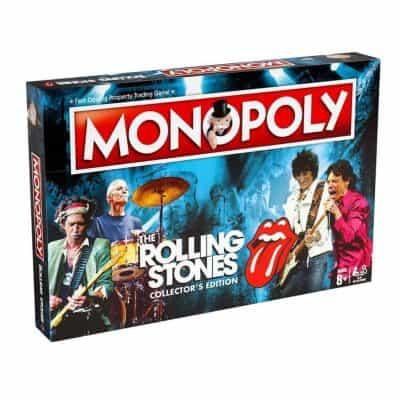 Rolling Stones Monopoly társasjáték