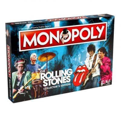 The Rolling Stones Monopoly doboz