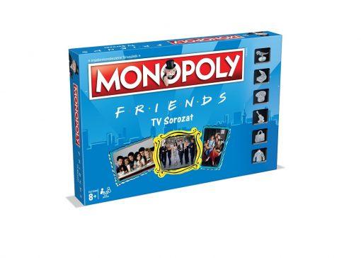 Jóbarátok Monopoly doboz