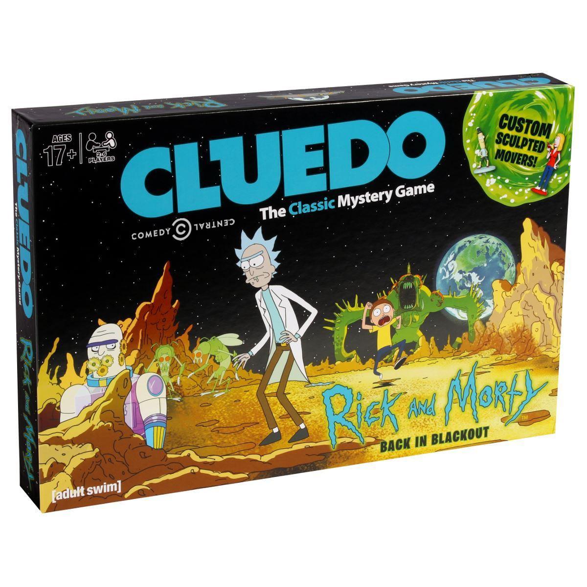 Rick and Morty Cluedo (1) logo