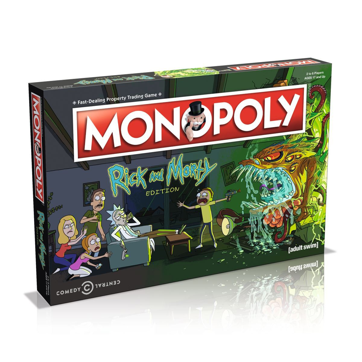 Rick and Morty Monopoly 1 logo