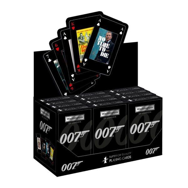 007 James Bond francia kártya